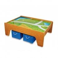 Příslušenství vláčkodráh - dřevěný stůl pro vláčkodráhu