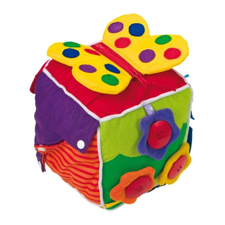 Plyšová hračka Kostka pro nejmenší