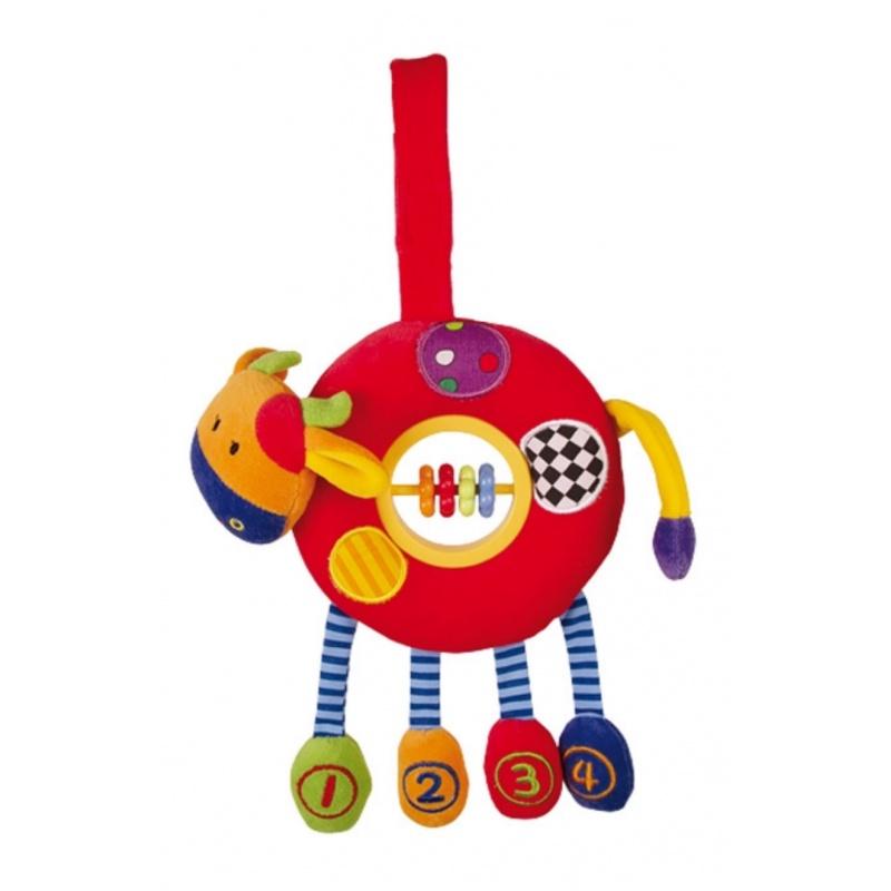 Motorická hračka pro nejmenší - Kravička Isabell