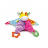 Textilné hračky - Hračka s hryzátkami Hviezda