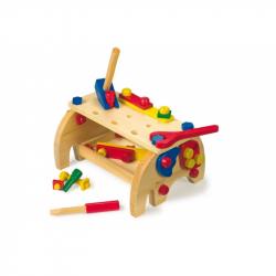 Drevené hračky - Ponk - Pracovný stôl Slon