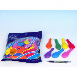 Balon A70 Pastel różnokolorowe 100 sztuk 19cm
