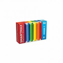 SmartMax magnetická stavebnice extra dlouhé tyče 6 ks