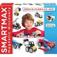 SmartMax Pojazdy - klocki magnetyczne