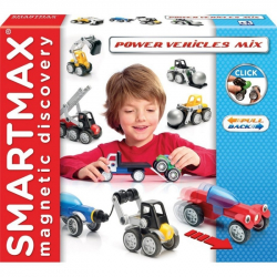 SmartMax magnetická stavebnica mix vozidiel