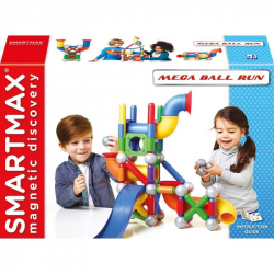 SMARTMAX Klocki Magnetyczne Mega Ball Run 71 EL