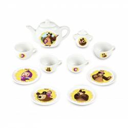 Kávový porcelánový set Máša a medved