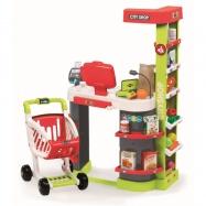 Obchod City Shop červeno-zelený