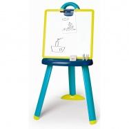 Tabule na kreslení 2v1 stojací modrá