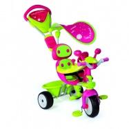Tříkolka Baby Driver Confort stříška,zelenorůžová