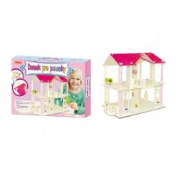 Domek pro panenky dřevěný