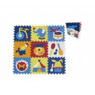 Penové puzzle cirkus 9 ks