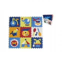 Piankowy puzzle cyrk 9 szt.