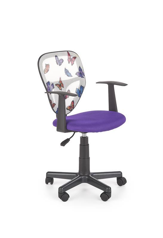 Dětská otočná židle SPIKER fialová