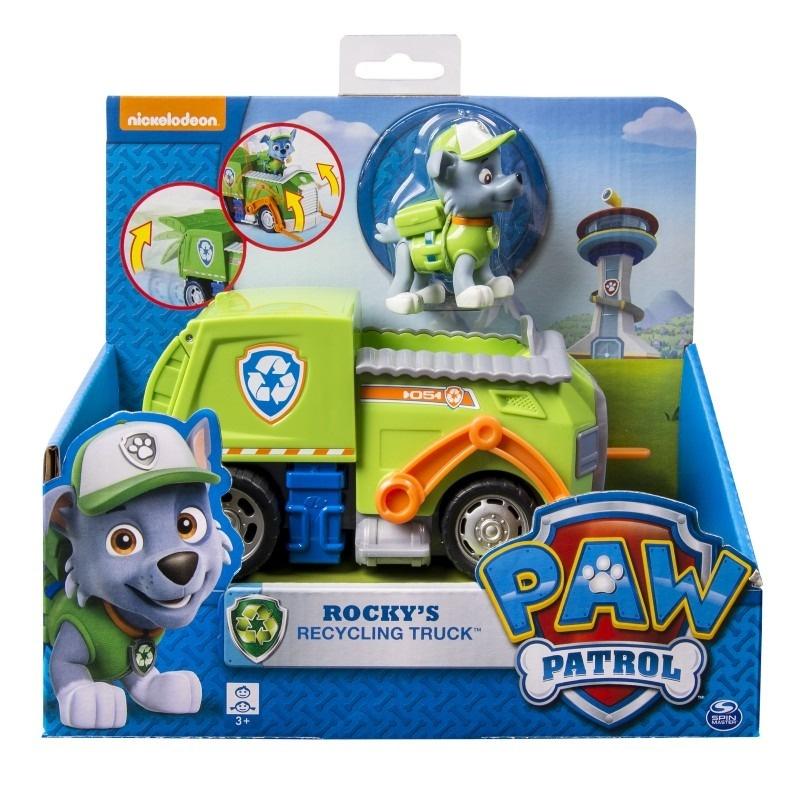 Základní vozidla s figurkou Tlapková patrola