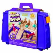 Kinetic sand cestovní kufřík s formičkami