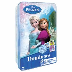 Domino v plechovej krabičke Ľadové kráľovstvo