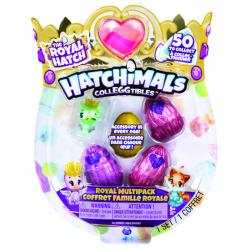 Hatchimals kráľovská zvieratka štvorbalenie s bonusom