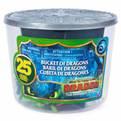Draci 3 kýblik plný drakov