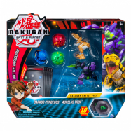 Bakugan Battle Planet 5-pack + karty
