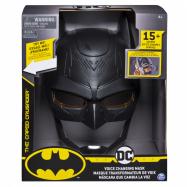 Batman helma a měnič hlasu se zvuky