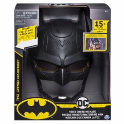 Batman helma a menič hlasu so zvukmi