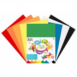 Sada farebných papierov pěnnové A4