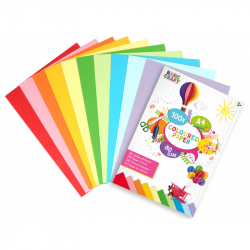 Sada farebných papierov A4