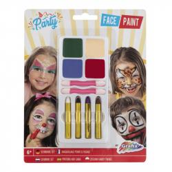 Barvy na obličej párty
