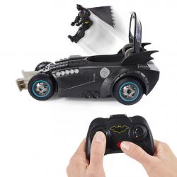 Batman RC Batmobil s figúrkou a katapultom