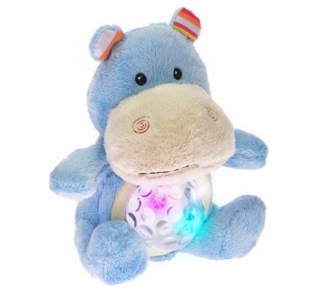 MIKRO TRADING STARLIGHT PETS hroch lampička 20cm na baterie se zvukem