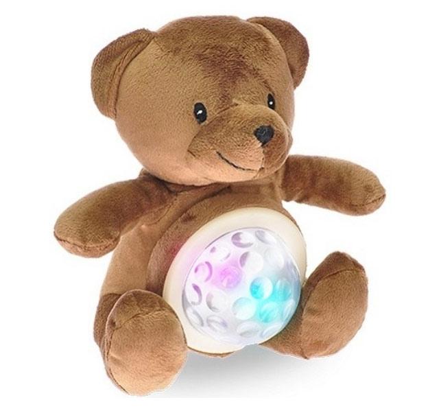 MIKRO TRADING STARLIGHT PETS medvěd lampička 20cm na baterie se zvukem