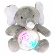 STARLIGHT PETS zvířátko plyšové/lampička na baterie se světlem a zvukem Slon