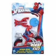 Spiderman 15 cm Spiderman na čtyřkolce