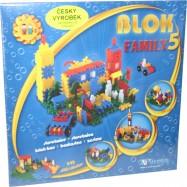Stavebnice BLOK 5 Family