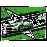Desky na číslice Škoda R5