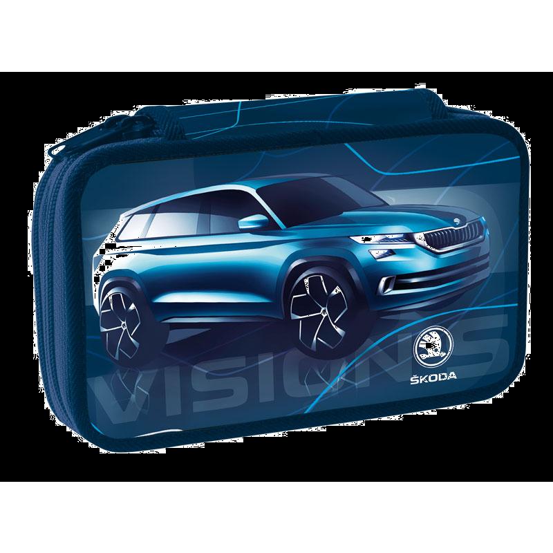 Dvoupatr.penál Škoda Vision