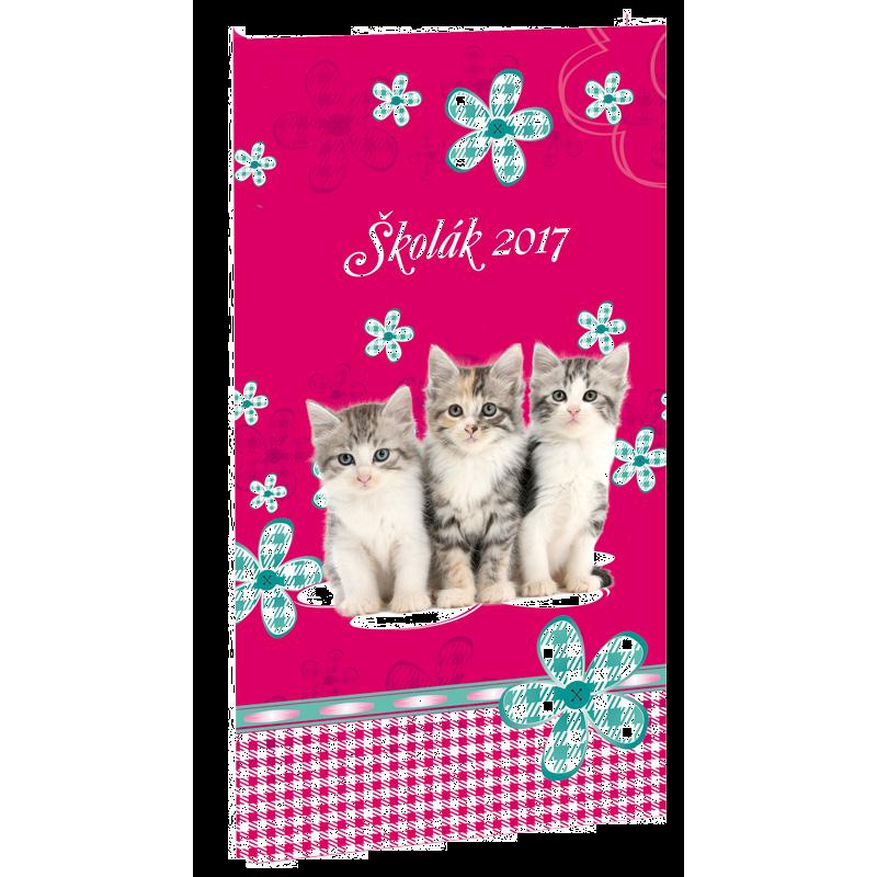 Diář Školák Cats
