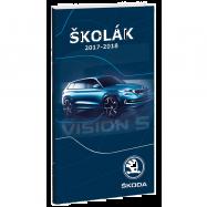 Diář Školák Škoda Vision