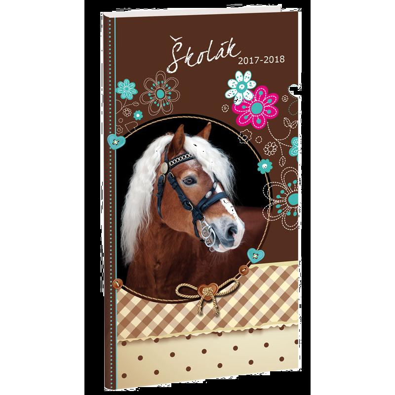 Diář Školák Sweet Horse