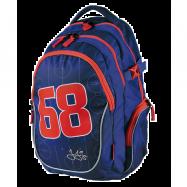 Plecak dla uczniów Jagr 68 niebieski