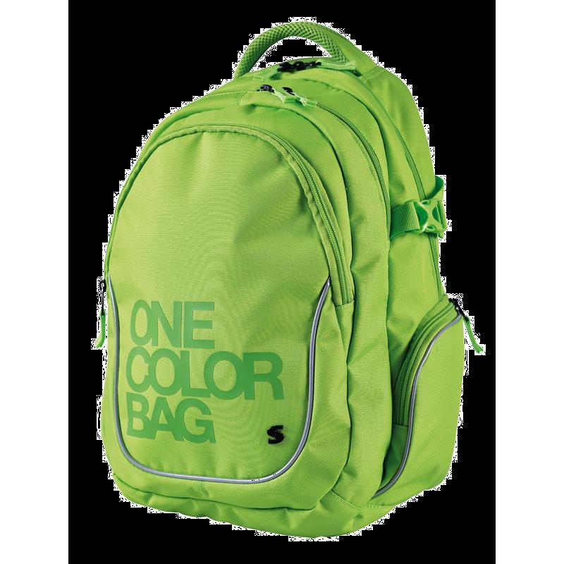 Plecak dla uczniów One Color zielony