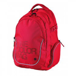 Plecak dla uczniów One Color czerwony