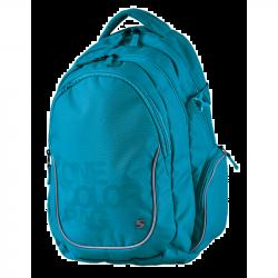 Studentský batoh One Colour tyrkys