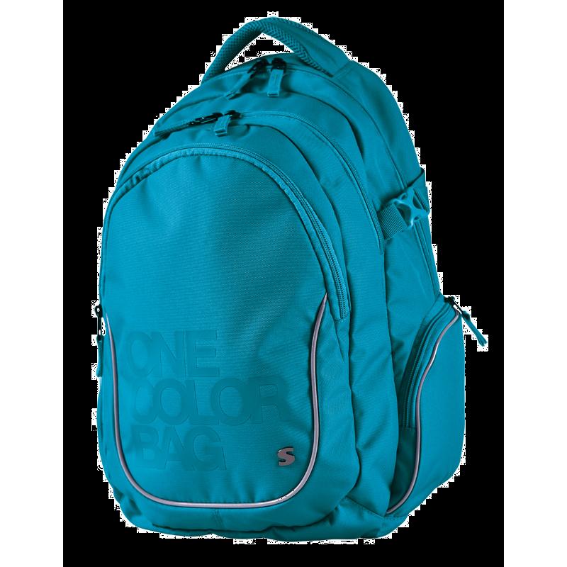 Plecak dla uczniów One Color turkusowy