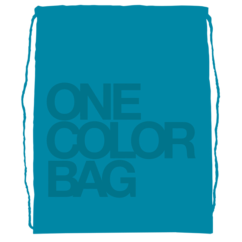 Plecak/worek dla dzieci One Color turkus