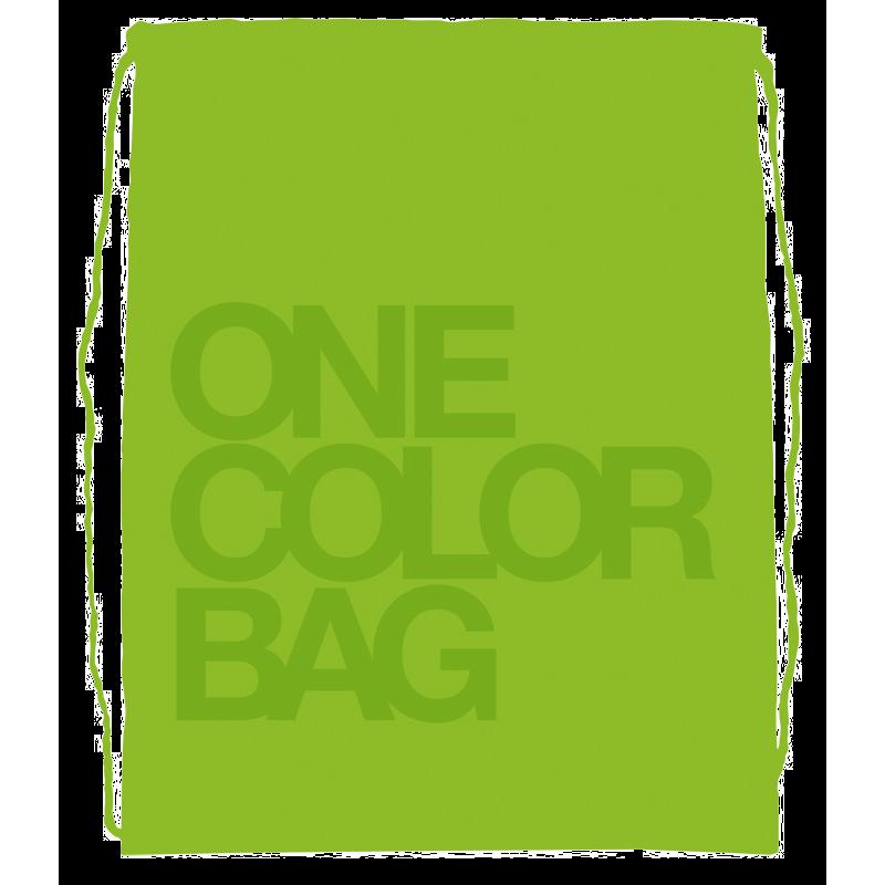 Plecak/worek dla dzieci One Color zielony