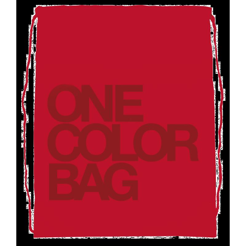 Plecak/worek dla dzieci One Color Czerwony