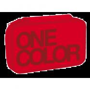 Piórnik szkolny One Color czerwony dwupoziomowy