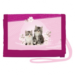 Peněženka na krk Kittens